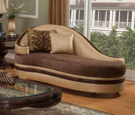 dark brown chaise lounge benetti s italia emma chaise lounge wood trim dark brown