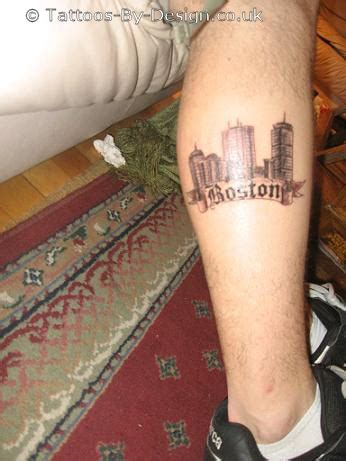 boston skyline tattoo designs boston skyline