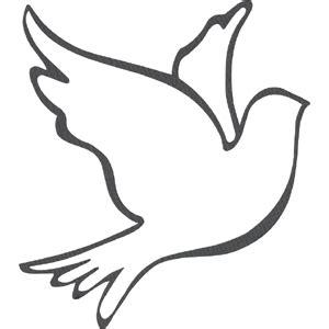 white dove template silhouette design store view design 1505 dove