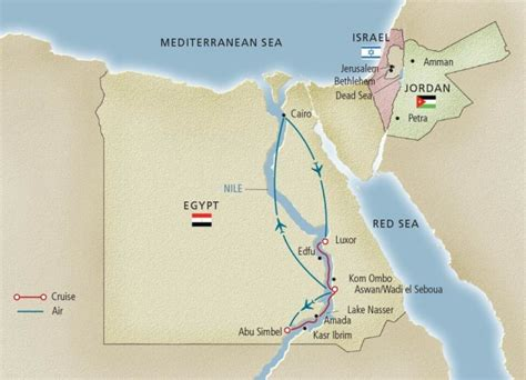 middle east map lake nasser 5 reasons to see africa on a nile river cruise cruise