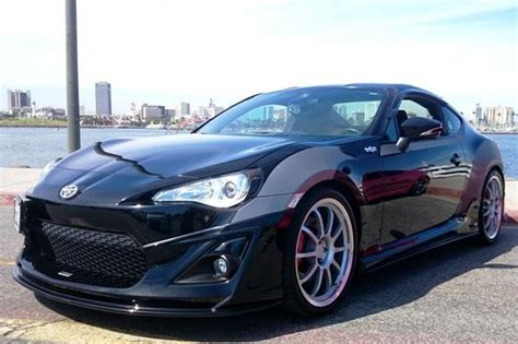 frs toyota black black beat motor type 2 body kit 6 pcs scion frs