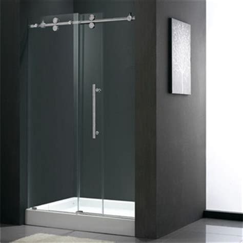 Adjustable Shower Doors Vigo Industries Frameless Adjustable Shower Door 68 Quot 71 9 16 Quot Free Shipping