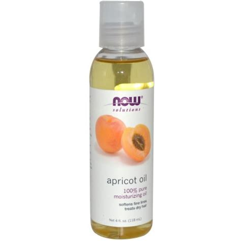 Sweet Almond Now Foods 118ml spotlight on apricot black with hair
