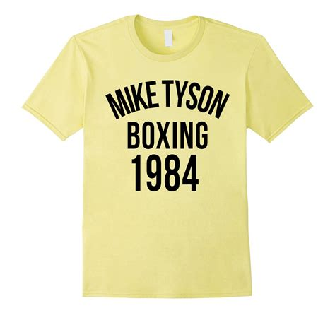 Tshirt Mike Tyson Boxing mike tyson boxing 1984 t shirt clothing