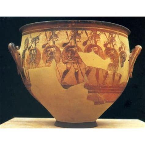 vaso cretese l arte micenea il vaso dei guerrieri e la maschera di
