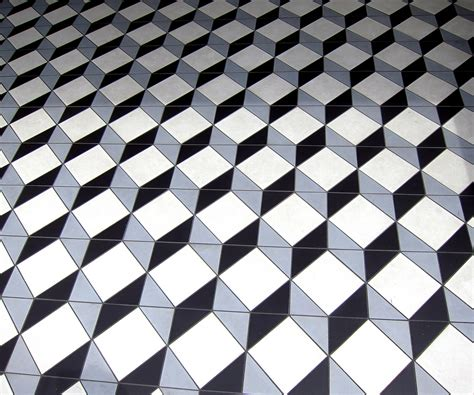 pattern geometric tile geometric floor tiles at 59 61 prince s gate london sw7