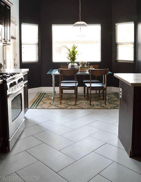 30  Herringbone Pattern Tiled Floor & Wall Surfaces