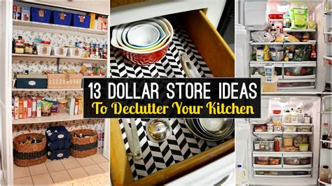 freedom tree design home store 13 declutter kitchen ideas from dollar store youtube