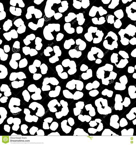 leopard pattern black and white leopard print seamless background pattern black and white