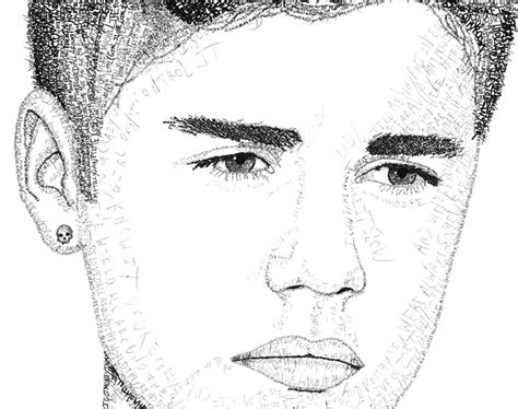 justin bieber template justin beaver coloring pages