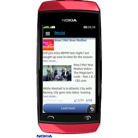 themes for java touch phones facebook app fmobi released for java s40 nokia asha