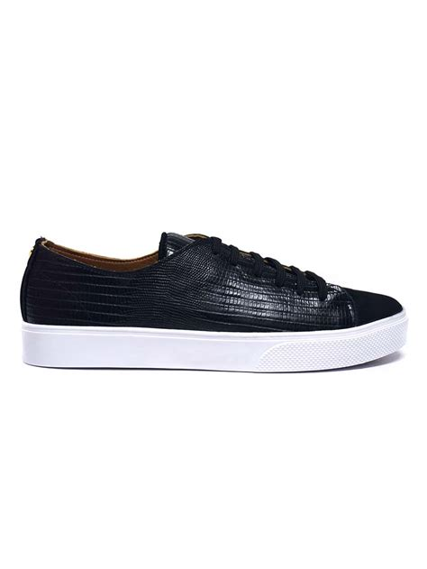 Sneakers Black Shoes by Kaanas Atacama Black Sneaker Modishonline