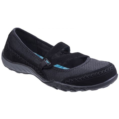 skechers black sneakers skechers skechers active breathe eazy lovestory black