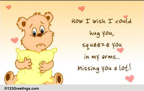 miss you a lot free miss you ecards greeting cards 123