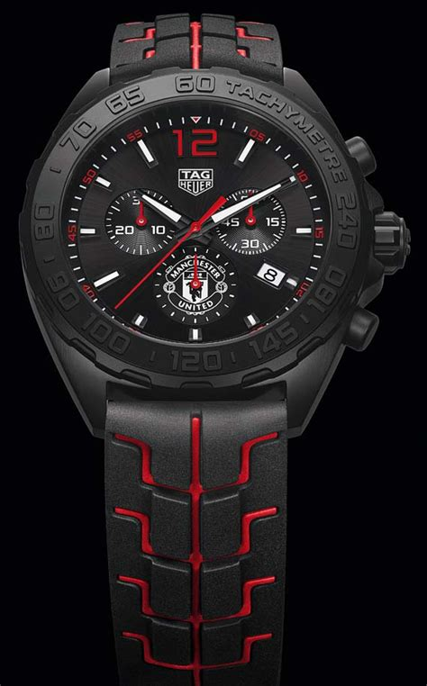 Tag Heuer Carerra F1 Edition 1 the quote the tag heuer formula 1 chronograph manchester united special edition a