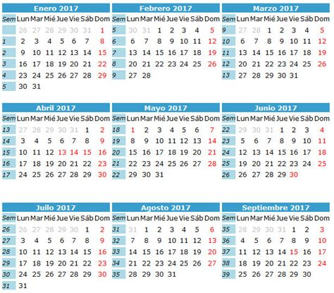 Calendario 365 Es Fases De La Calendario 2017 Caledarios 2017 Para Imprimir