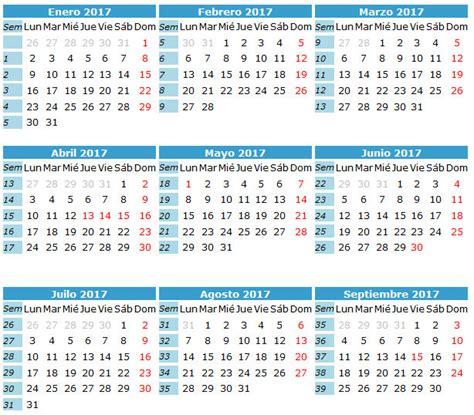 Calendario Gregoriano 2017 Calendario 2017 Caledarios 2017 Para Imprimir