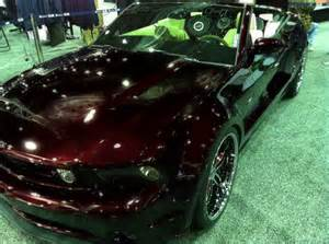 shades of black cherry metallic paint