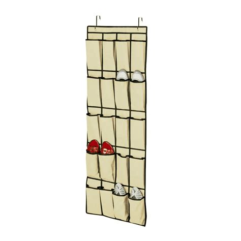 door hanging shoe organizer 20 pocket over the door shoe organizer space saver rack