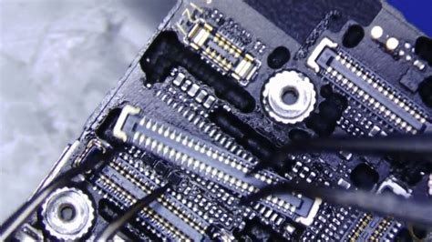 iphone   lcd digitizer connector repair youtube