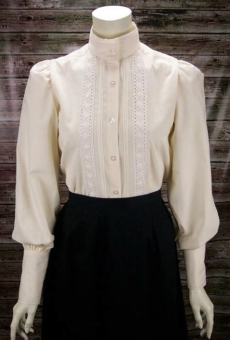 frontier classics victorian ivory lace grace blouse sass