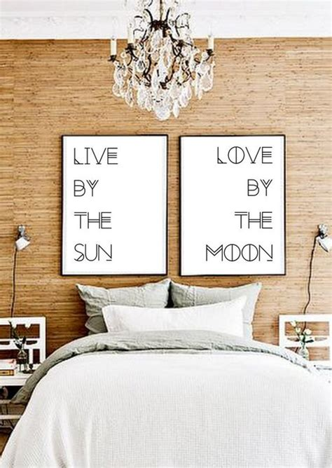 bedroom prints print poster typography and gypsy bedroom on pinterest