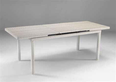 tavolo rattan bianco tavolo allungabile bianco etnico outlet mobili etnici