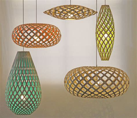 Light Light by Suspension Hinaki H 80 Cm Bois Naturel Bois Naturel