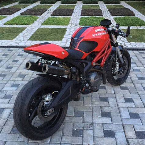 Motorrad Ducati Monster 696 by Ducati Monster 696 Cafe Racer Motorrad Bild Idee