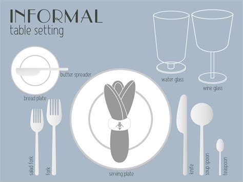 casual table setting your complete guide to table setting etiquette eat love