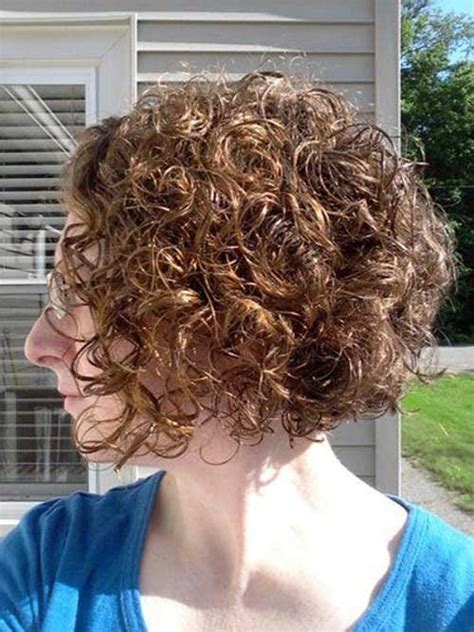 short permed stacked hairstyles short curly perms the best short hairstyles for women 2016