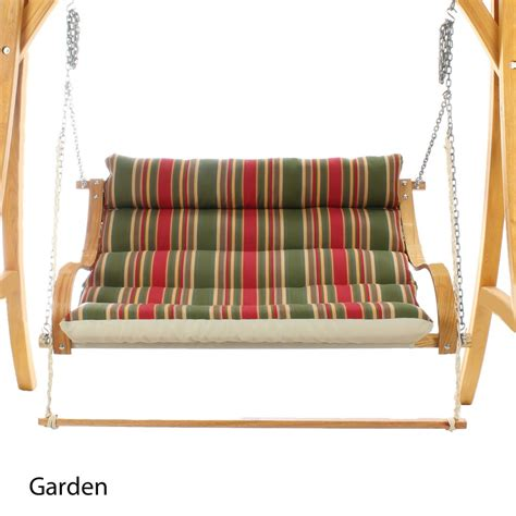 canvas swings curved arm canvas double swing