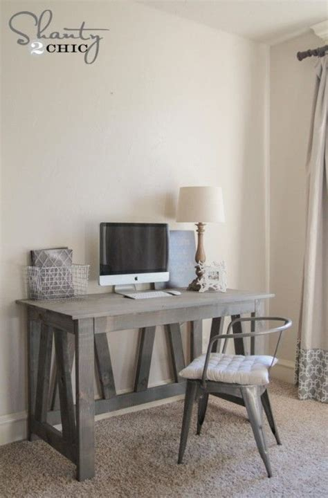Rustic Desk Ideas 17 Best Ideas About Diy Computer Desk On Pinterest Rustic Computer Desk Office Computer Desk