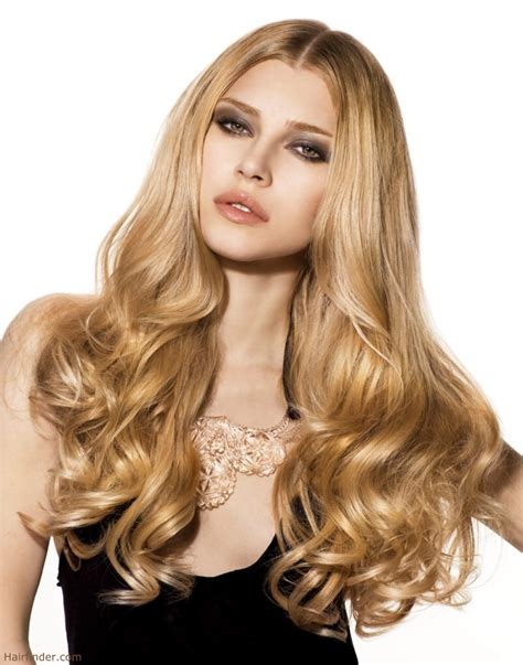 hairstyles for long hair pictures long hair with curls that almost reach the waist