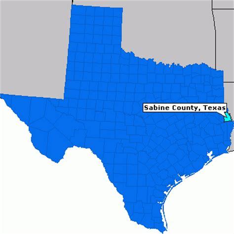 sabine county texas map sabine county texas county information epodunk