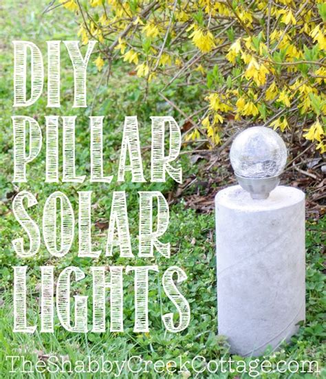 solar light projects 20 cool concrete projects