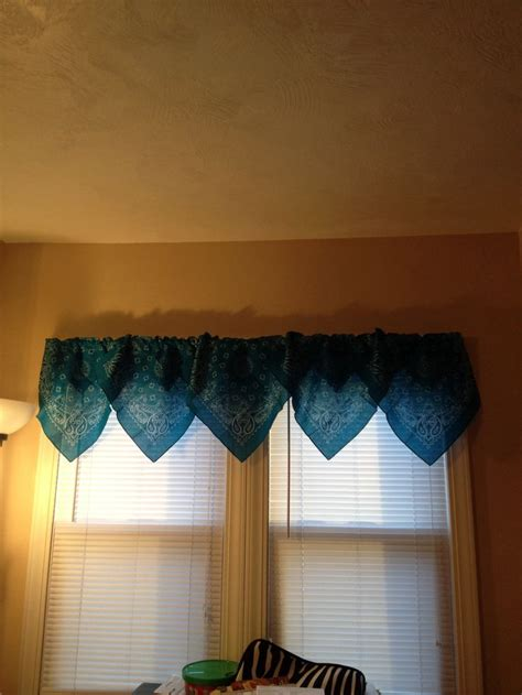 bandana curtains bandana curtains my crafts and crochet pinterest