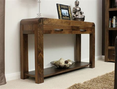 Toronto Walnut Console Table Oak World Sofa Table Toronto