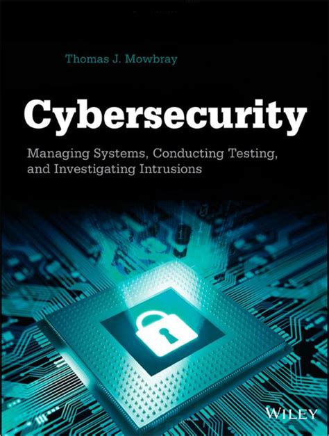 Distance Mba In Cyber Security by Cover Page Cybersecurity Managing Systems Conducting