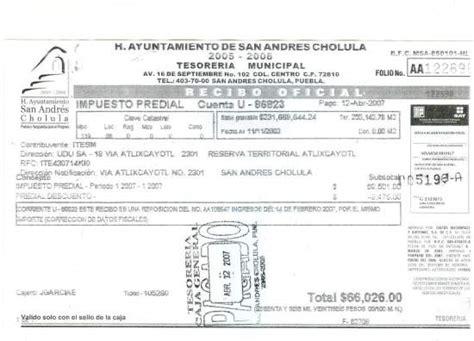 pago del predial en el estado de mexico tecamac 187 municipio