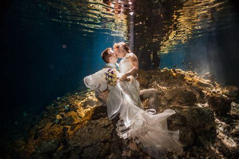 incredible underwater trash the dress photos bridalguide trash the dress oasis amor fashion