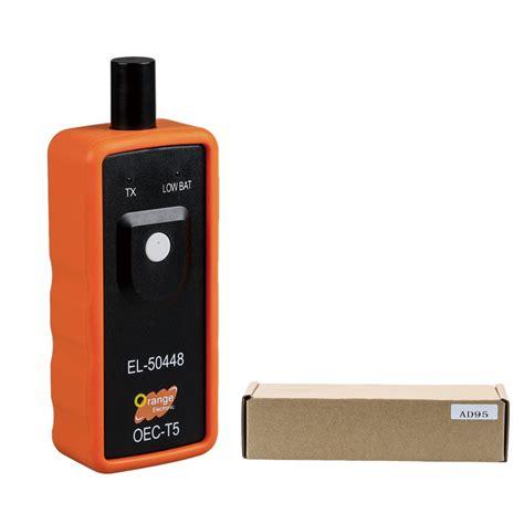 new vxscan el 50448 auto tire pressure monitor sensor tpms gm tpms relearn tool vxscan el 50588 vs el 50448 hot