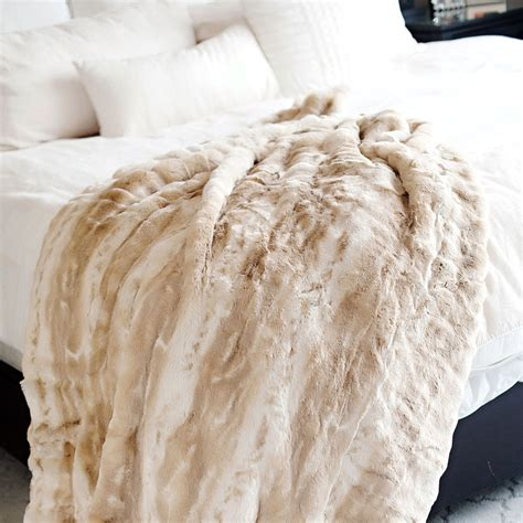Faux Fur Mink Blanket by Mink Couture Faux Fur Throw Blanket Throws