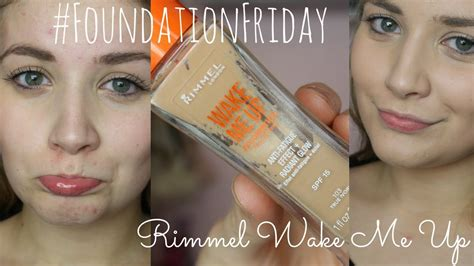 Make Me Up by Foundationfriday Rimmel Me Up Demo Review