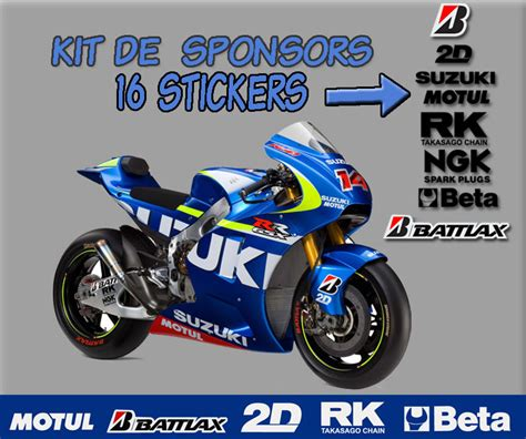 Sticker Suzuki Motogp by Stickers Moto Gp Suzuki Id 233 E D Image De Moto