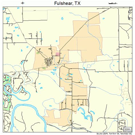 map of fulshear texas fulshear texas map 4827876
