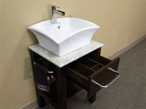 bathroom vanities clearwater fl 24 25 quot clearwater single vessel sink vanity bathgems com