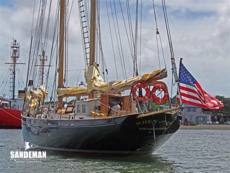 ft john alden schooner  sandeman yacht company