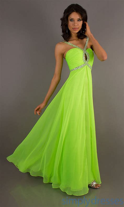 Bright Green Cocktail Dress - neon green prom dresses coat pant