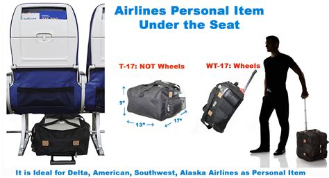 united baggage size airlines personal item under seat 17 quot 13 quot 9 quot airlines personal item under seat